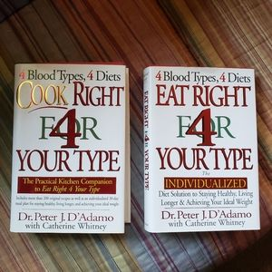 Eat Right & Cook Right 4 Your Blood Type